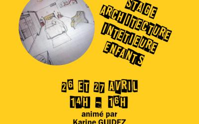 Stage architecture enfant