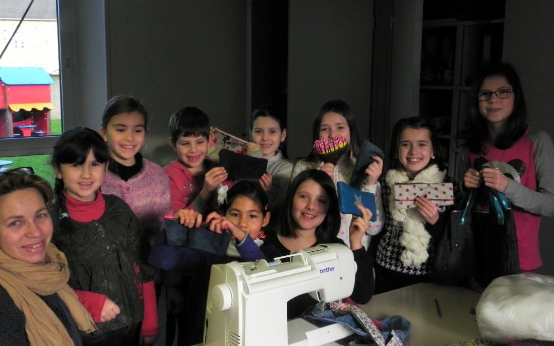 Stage couture enfant à l'OCL pendant les vacances de février