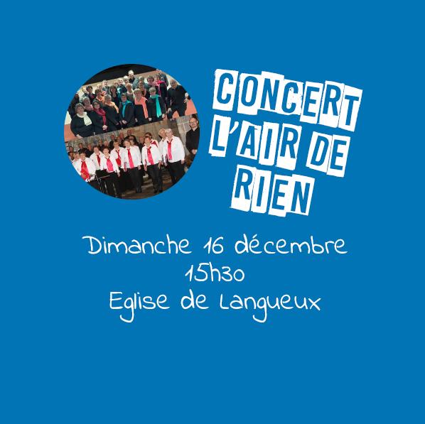 Concert de la chorale L'Air de Rien