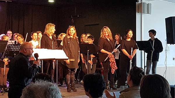 Rencontre des flûtistes à St Quay