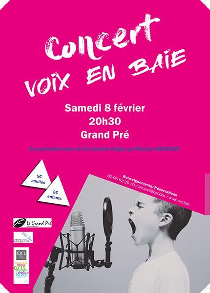 Concert Voix en Baie